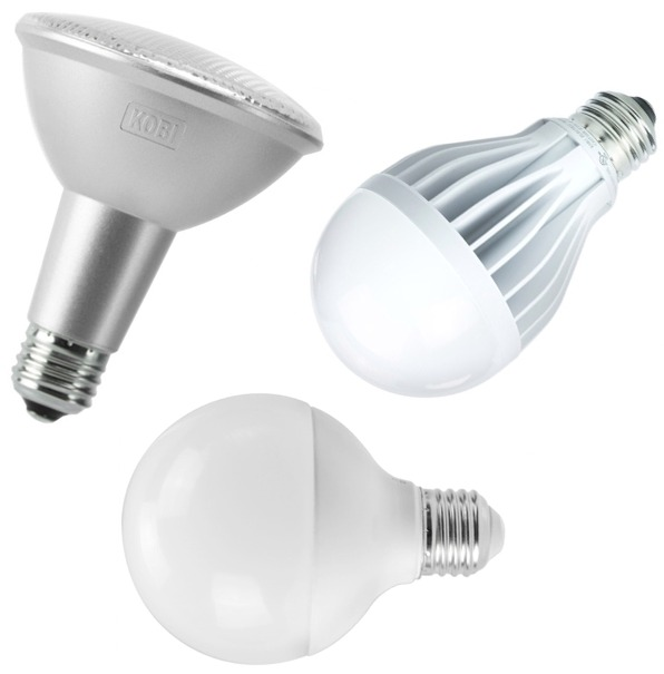 Led Flood Light Bulb Sizes: Kobi Electric LED Flood Lights & Standard Size Bulbs