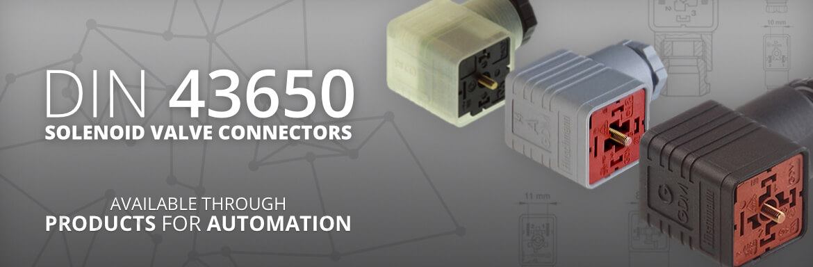 major electronix handles a wide range of din 43650 / iso 4400 (en  175301-803) solenoid valve connectors  various options in modifying the  connectors include