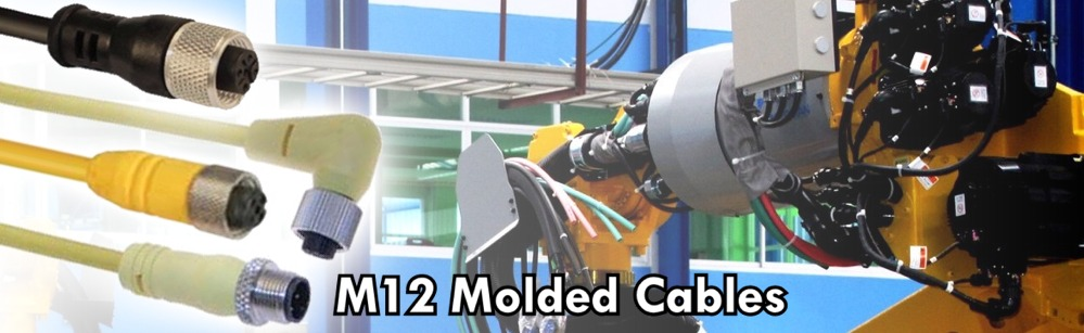 M12 Molded Cable Cordsets