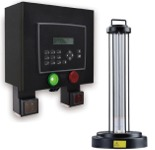 HTP Room Capacity Monitor & Remphos UV Germicidal Light