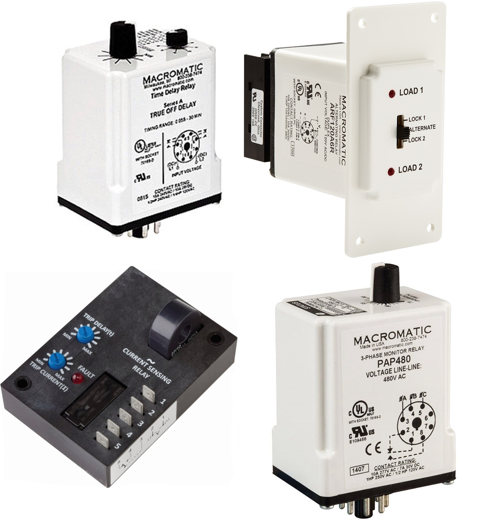 Introduction to Macromatic Relays on