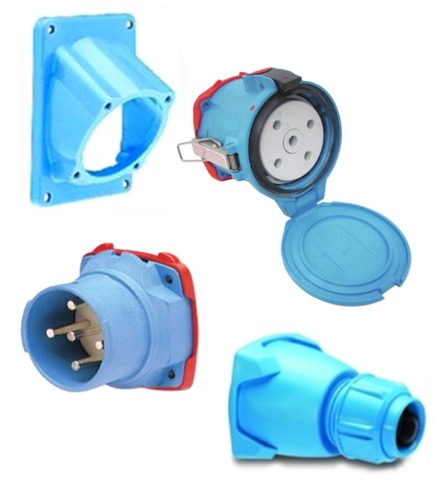 Meltric Circular Power Connectors