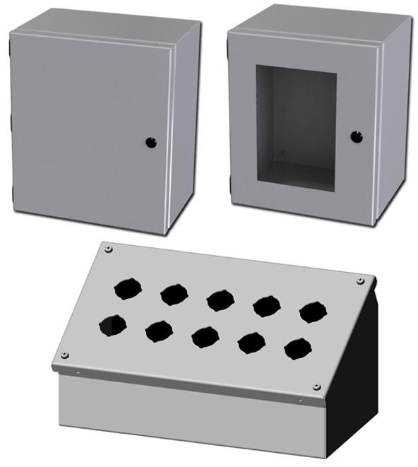 Saginaw Control & Engineering Enclosures & Push Button Boxes