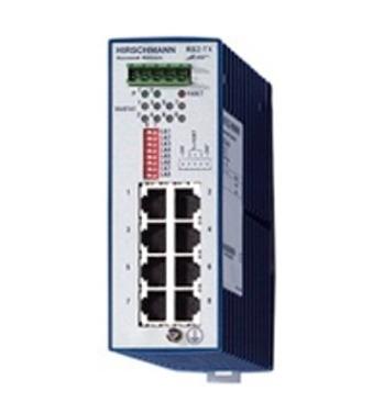 HIRSCHMANN RS2-5TX ETHERNET RAIL SWITCH